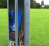 Free Photo - Locker and sports equipment