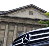 Free Photo - Mercedes CLS 350 at Dunedin Town Hall