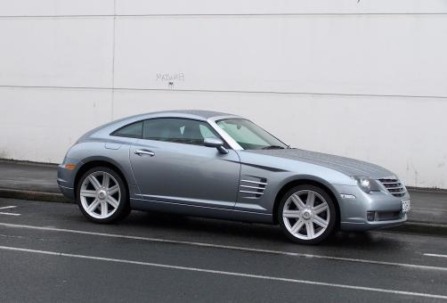 Chrysler Crossfire in Dunedin NZ - Free Stock Photo