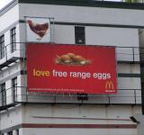 Free Photo - Bizarre mcDonalds advertising