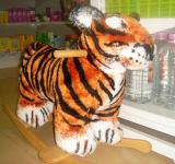 Free Photo - Tiger-rocking chair