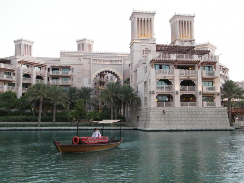 Free Stock Photo of Nice View at Madinat-Dubai Created by Min Zaw