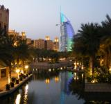 Free Photo - Night View at Souk Madinat-Dubai