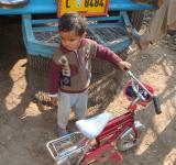 Free Photo - Baby boy with bike