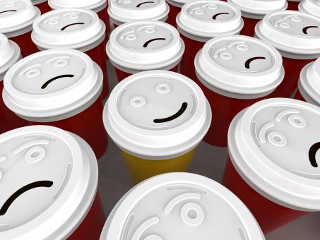 Happy Coffee Cup - Free Stock Photo
