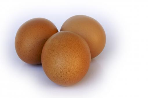 Three eggs - Free Stock Photo