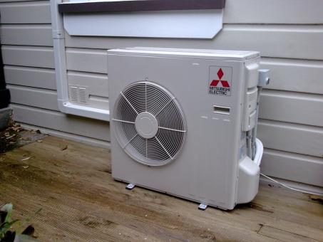 Mitsubishi Electric Air Conditioner - Free Stock Photo