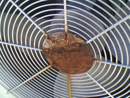Rusted Air Conditioning Fan - Free Stock Photo
