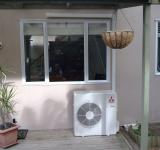 Free Photo - Air conditioner under window