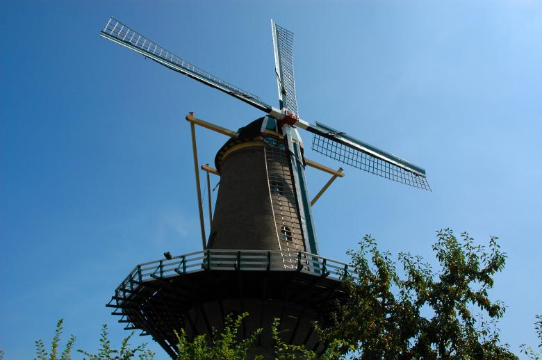 Free Stock Photo of Dutch Windmill Created by Max van Holten