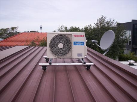 Heat Pump on a Roof - Free Stock Photo