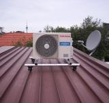Free Photo - Heat Pump on a Roof