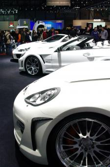 International Geneva Cars salon 2010 - Free Stock Photo