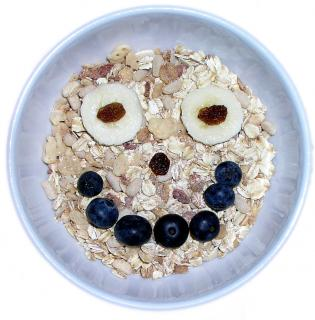 Happy Cereal Free Photo