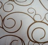 Free Photo - White curl bed sheet design