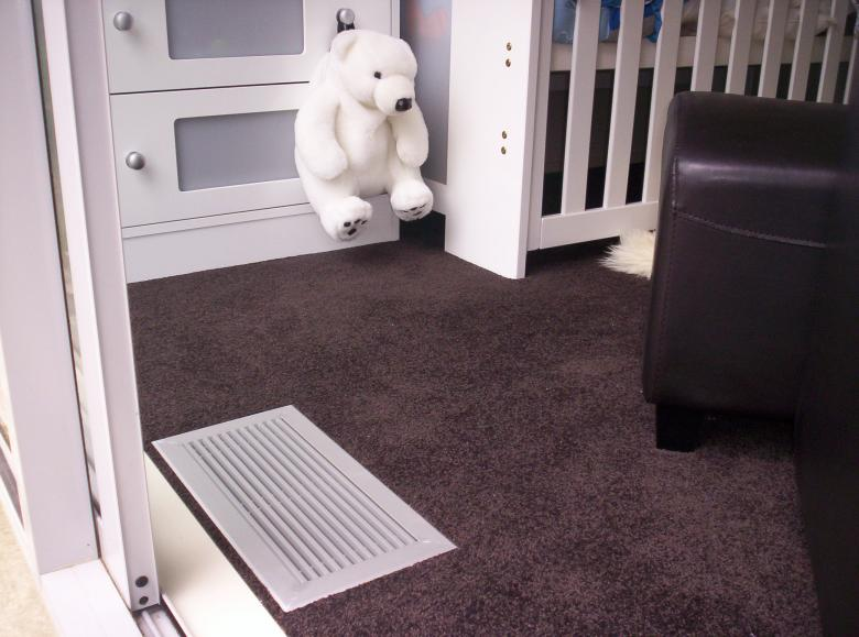 Free Stock Photo of Air Vent in Babys Room Created by James Walton
