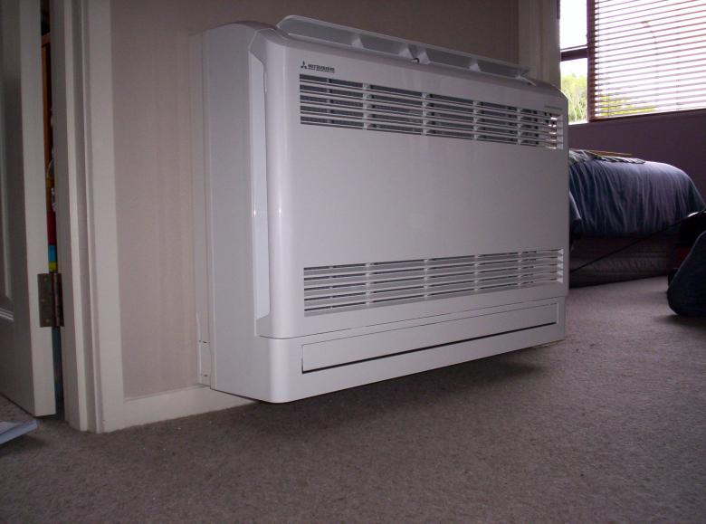 Free Stock Photo of Wall Mounted Air Conditioner Created by James Walton