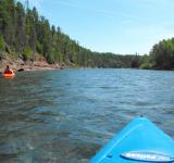 Free Photo - Kayaking on river