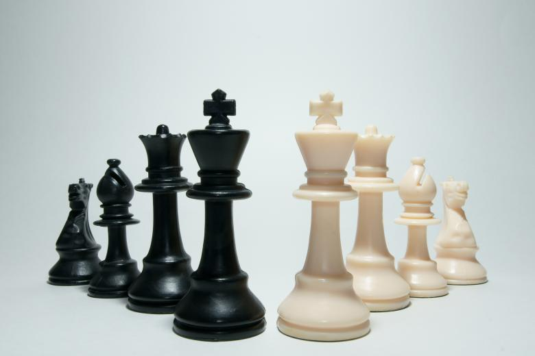 Free Stock Photo of Chess Pieces Created by Barry Haynes