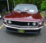 Free Photo - Burgundy Ford Mustang