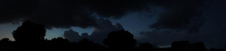Storm Cloud Panorama Free Photo