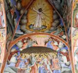 Free Photo - Medieval frescoes in the Rila Monastery.