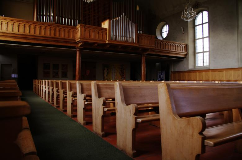 Free Stock Photo of Church Benches Created by frhuynh
