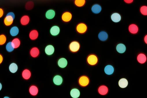 Abstract Bright colored lights - Free Stock Photo