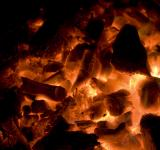 Free Photo - Glowing red hot coals