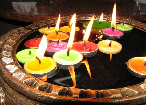 Colorful Candles - Free Stock Photo