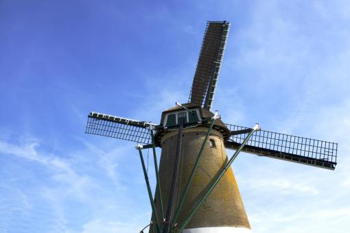 Windmill at Kaag near Amsterdam - Free Stock Photo