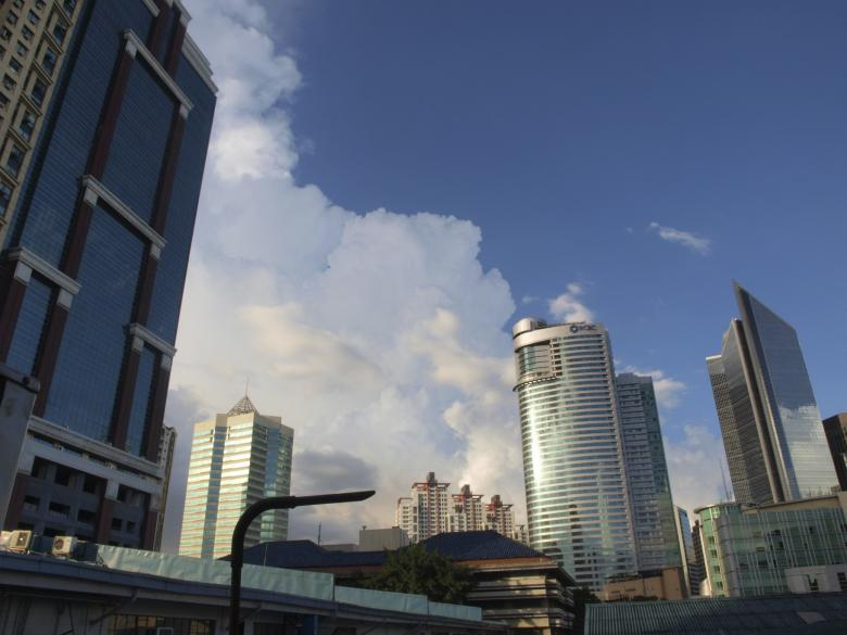Free Stock Photo of Makati buildings Created by Ed Davad