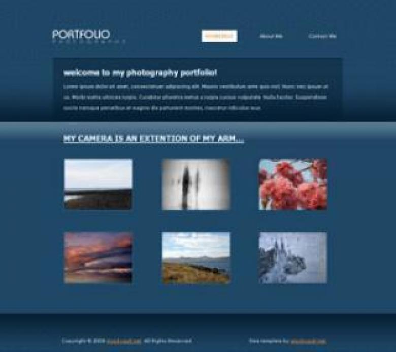 Free Stock Photo of Template 08 - Photographer Portfolio Created by Bjorgvin Gudmundsson