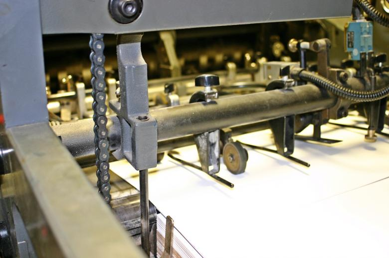 Free Stock Photo of Offset printing machine Created by homero chapa