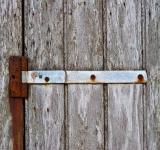Free Photo - Rusty Hinges on Wood