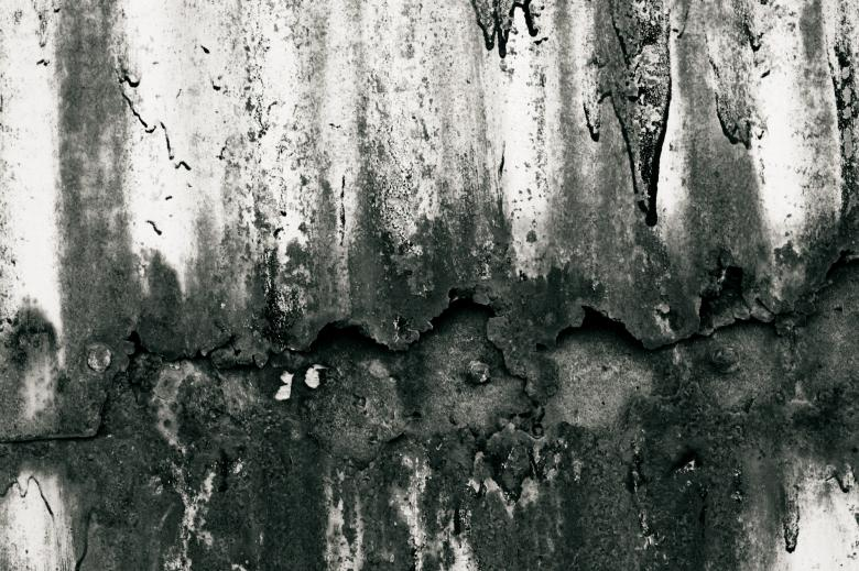 Black and white rust - Free Grunge Backgrounds