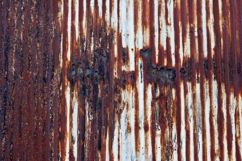 Free Stock Photo of Rusted Metal Texture Created by Bjorgvin