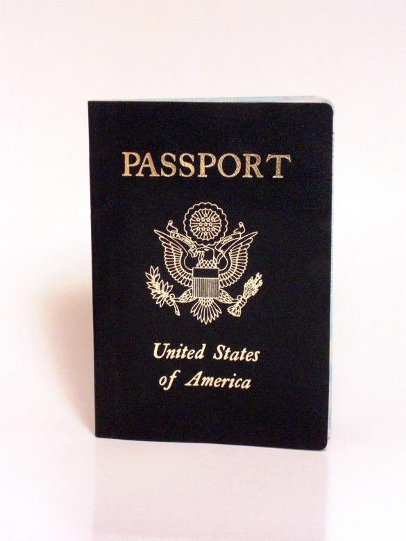 Free Stock Photo of American Passport Created by Brian