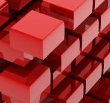 Free Photo - Red cubes