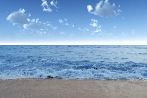 Blue Sea - Free Stock Photo