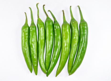 Hot Green Chillies - Free Stock Photo