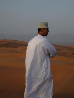 Omani desert people - Free Stock Photo
