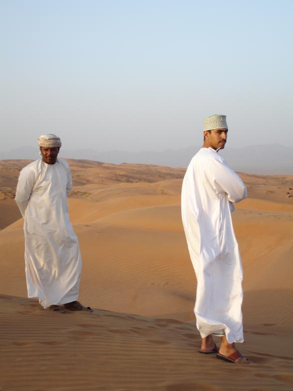 Free Stock Photo of Omani desert people Created by Aparna Khanna