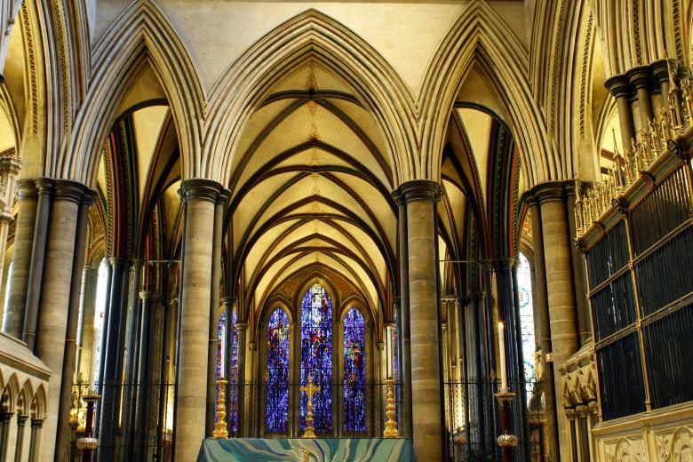 Free Stock Photo of Salisbury Cathedral Created by paul clifton