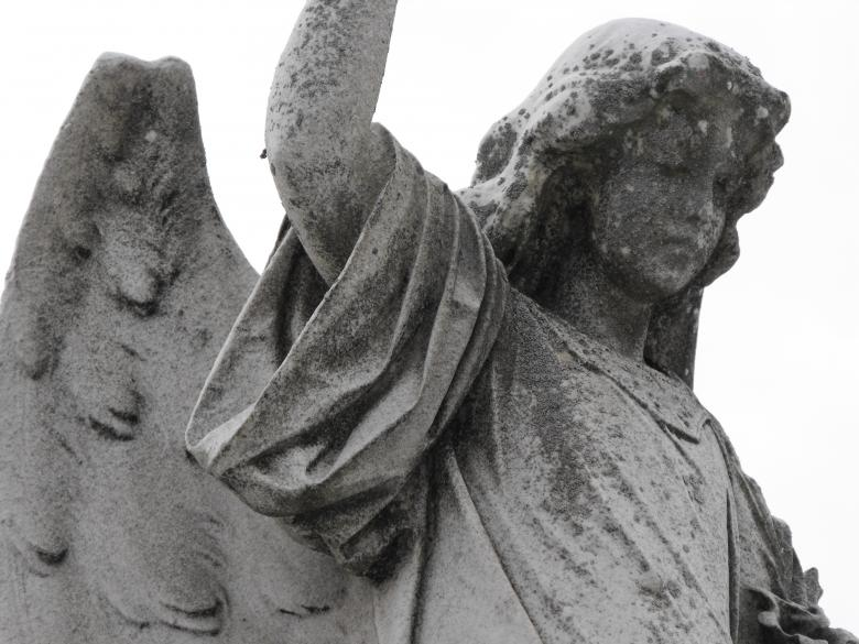 Angel Statue - Free Spooky Stock Photos