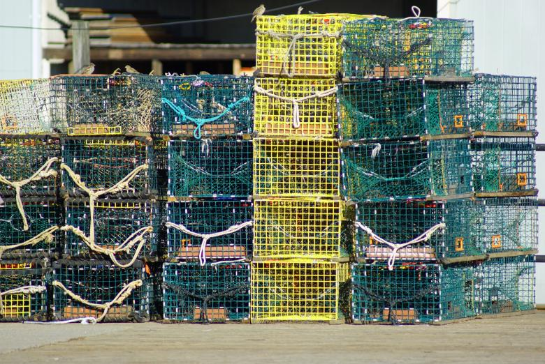 Free Stock Photo of Lobster Traps Created by Brian Norcross