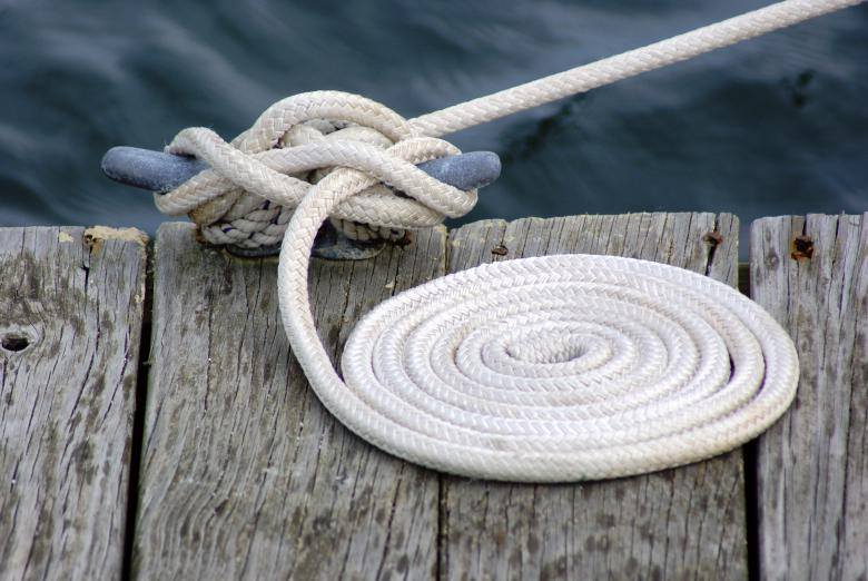 Free Stock Photo of Dock Rope Created by Brian Norcross
