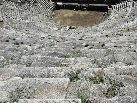 Amphitheater in the ancient city of Nysa - Free Stock Photo