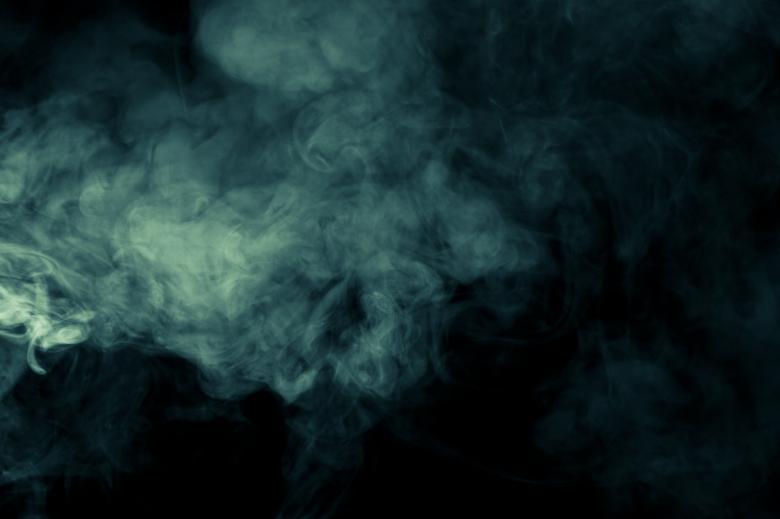 Free Stock Photo of Green Smoke Created by Bjorgvin
