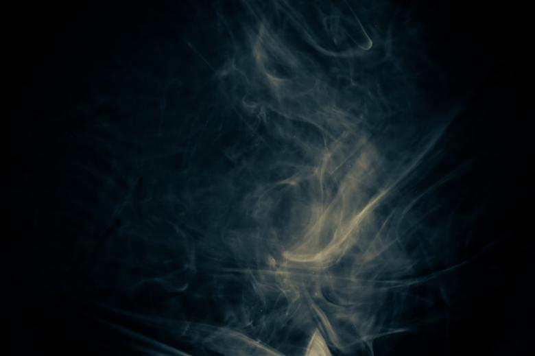 Free Stock Photo of Abstract Blue Smoke Effect Created by Bjorgvin